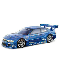 HPI Racing BMW M3 GT 190mm Clear Body 1:10 RC Cars Drift Touring On Road #7352