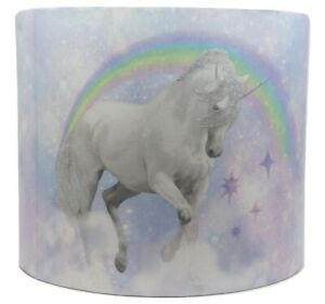 Unicorn Light Shade Lampshade Pink Purple Girls Bedroom Nursery Accessories Gift Ebay