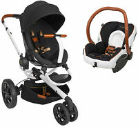 Quinny Moodd Special Edition Rachel Zoe Travel System, Stroller + Car Seat