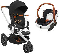 Quinny Moodd Special Edition Rachel Zoe Travel System, Stroller + Car Seat