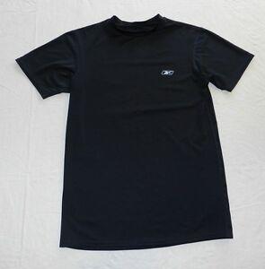 Boys shirt REEBOK size LARGE short sleeve T shirt top (ba92)
