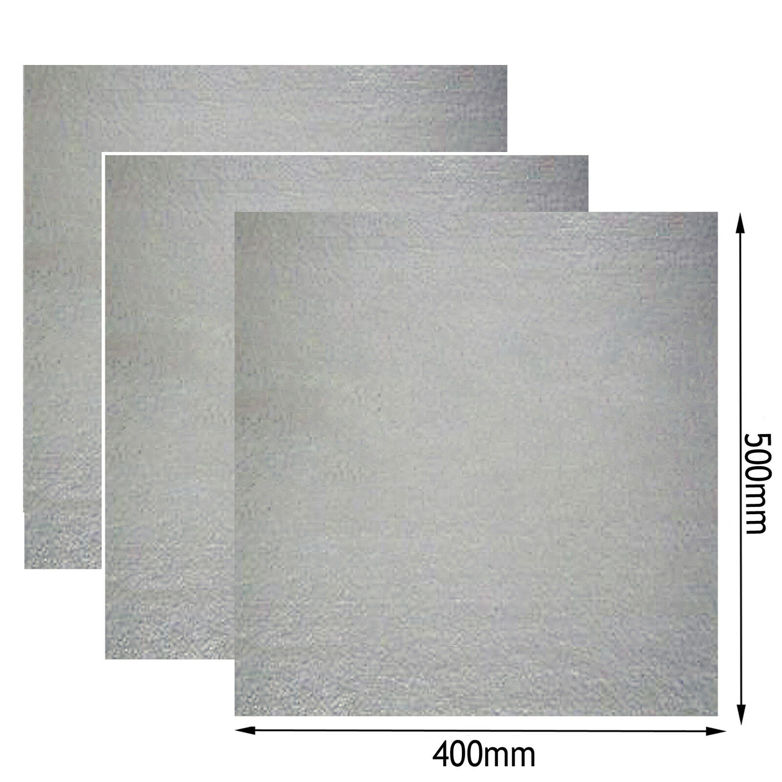 Universal Wave Guide Roof Liner Cover for TRICITY BENDIX Microwave 400x500mm x 3