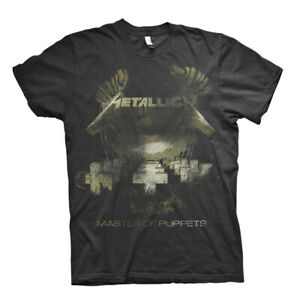 Metallica-Master-of-Puppets-Sepia-Official-Tee-T-Shirt-Mens-Unisex