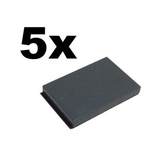 smooth flat tile 2x3 TILES NEW LEGO Black Tile x 5 2 x 3