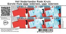 Nederland 2012 Rode kruis Red cross rotes kreuz 2902 blok postfris/mnh