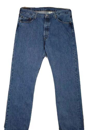 Levis Mens 501 5 button fly blue Jeans Size 38 x 3