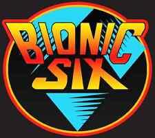 80's Cartoon Classic Bionic 6 Six Logo custom tee Any Size Any Color LJN