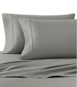 Wamsutta-400-T-Count-DUVET-COVER-TWIN-SET-Gray-NEW-Wrinkle-Resistant-4-Available