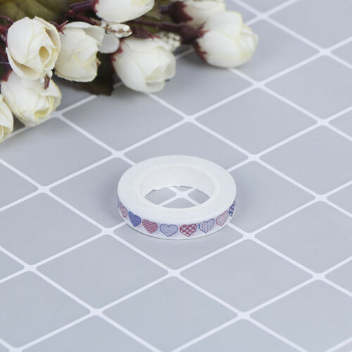 Multi-Stil WashiKlebeband Masking Tape Basteln Scrapbook Reispapier Sticke YE