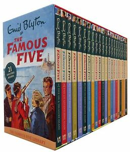 Enid-Blyton-Famous-Five-Series-21-Books-Set-Collection-Pack-1-To-21-NEW
