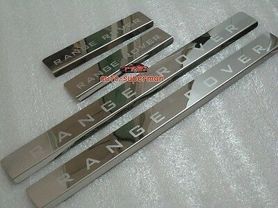 Door sill scuff plate Guards For Range Rover Supercharged 2003-2011 2012
