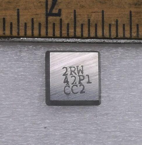 5 NEW Card 2RW42P1 CC2 Carbide Inserts