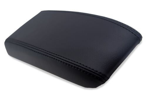 Center Console Armrest Real Leather Cover for Toyota 4 Runner 84-89 Black