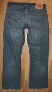 """>>> Levi `S 527 D' Homme Jeans / Levis Bleu Jeans en Bleu En Env. W32 """" / L29 """""""