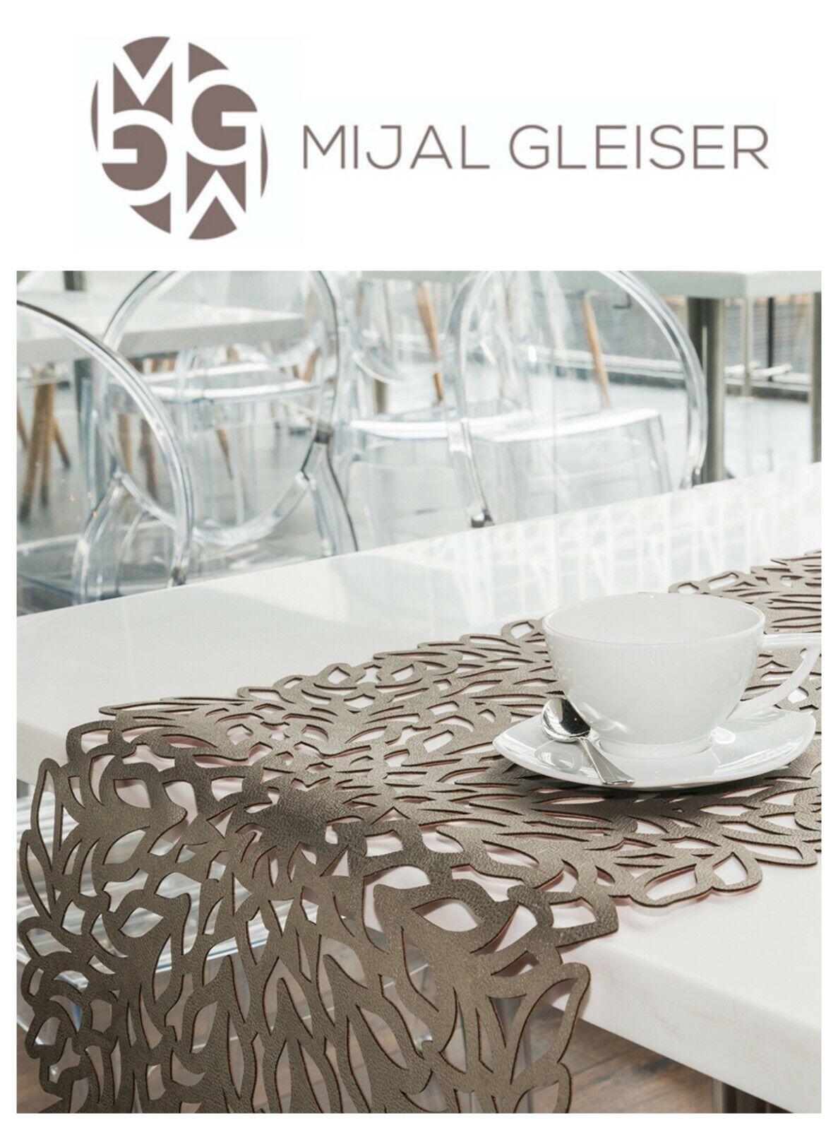 Mijal Gleiser double face Table Runner Découpe Laser résistant à la chaleur 55  X 16