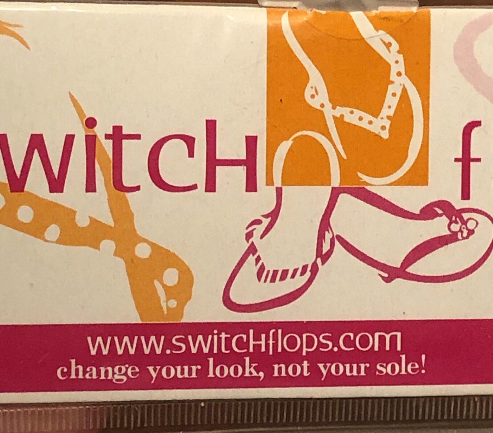 `LuLu Designs Inc.Switch flops~THE AMANDA~Snakeskin Black White&Grey L-9,10,11