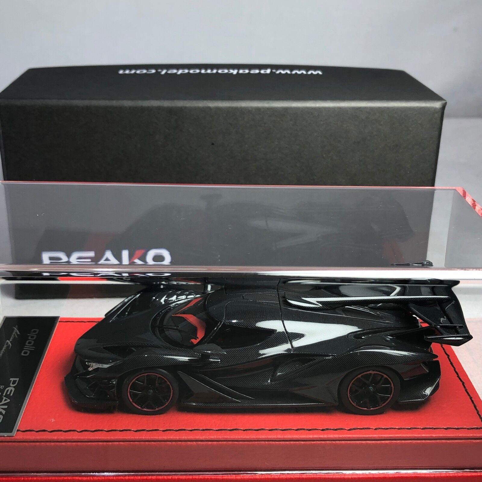 1 43 Escala Modelo Peako Apolo IE todo de carbono Ltd 100 piezas