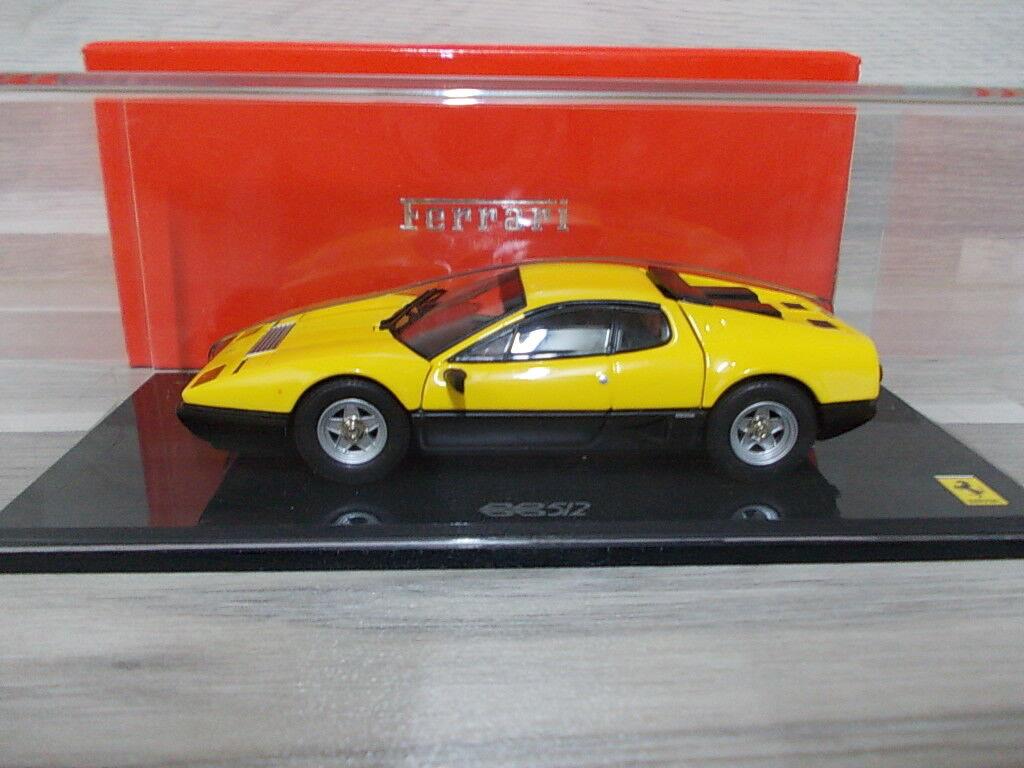Kyosho 1 43 - Ferrari 512BB  amarillo