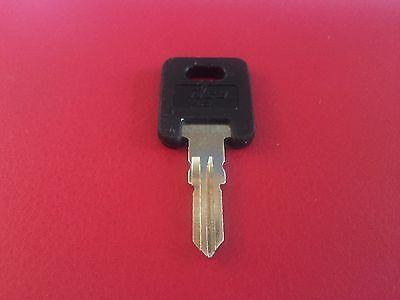 4 Global Link RV Plastic Head Code Cut Keys G301-G350 CH751-Brass only