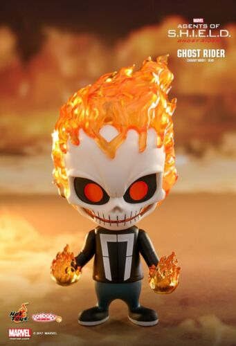 Authentic Hot Toys Agents of S.H.I.E.L.D Ghost Rider Cosbaby Marvel Johnny Blaze