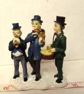Grandeur-Noel-Train-Village-Three-Man-Band-Victorian-Christmas-2001