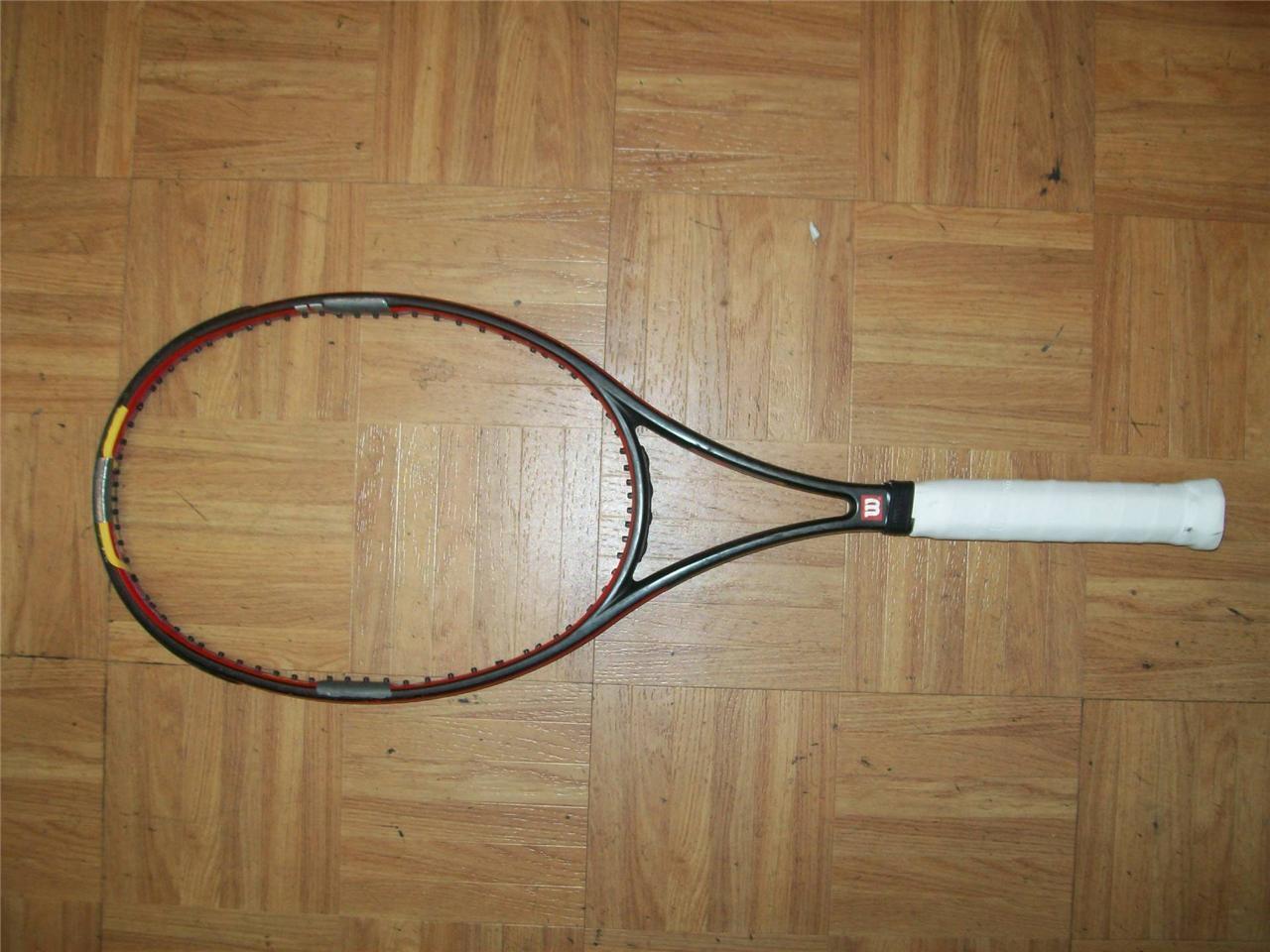 Wilson Hyper Pro Staff Rok Midsize 93 head Taylor Dent 4 1 2 grip Tennis Racquet