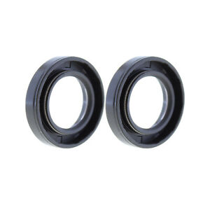 Rotary Shaft TC Oil Seal 25x42x10 NBR Double Lip with Garter Spring Set of 2