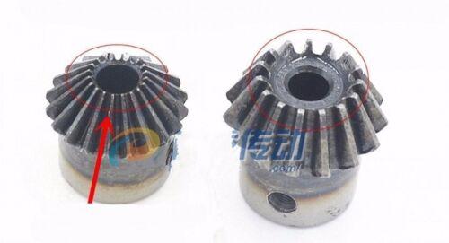 Motor Bevel Gear 4.0 Mod 15//16//17//18//19//20T 90 Deg 1:1 Pairing Bevel Gear x 1Pcs