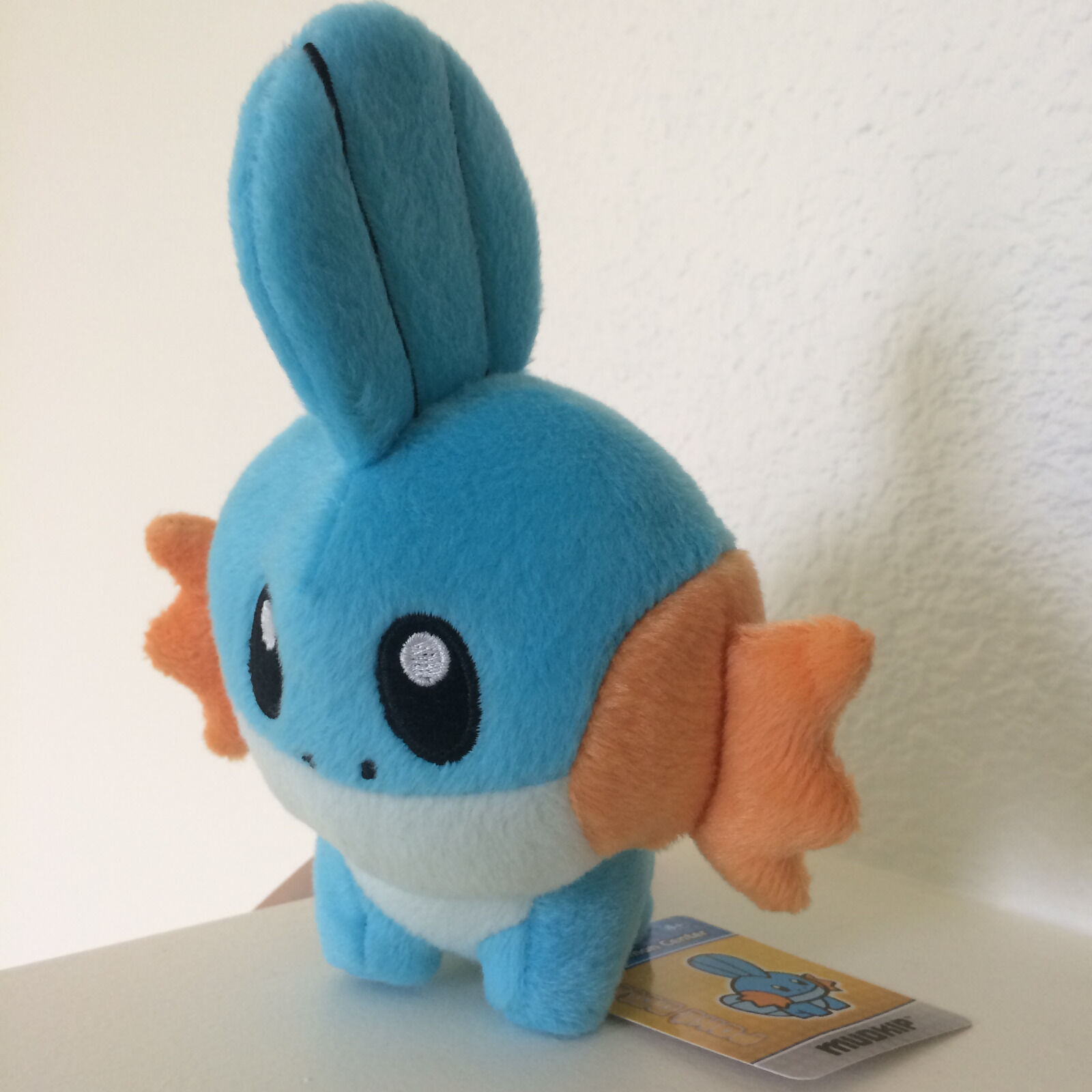 Mudkip Poke Doll 2010 Pokemon Figure Center USA Plush Figure Pokemon Stuffed Swampert Sceptile 77858a