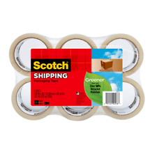 Greener Hvy Dty Shipping Tape 6pk 1 78x492 Yds Cl Shipping Pack Tape