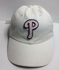 MLB Philadelphia Phillies Women's Adjustable Cap Hat 47 Twins 100% Cotton