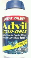 Advil Liqui-Gels 200 mg - 200 Liqui-Gels-Liquid Filled Capsules (Read b4 buy)