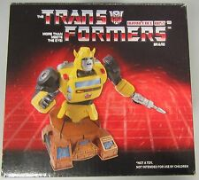 Transformers G1 Bumblebee Bust Autobot Cold Cast Porcelain Statue - Hasbro