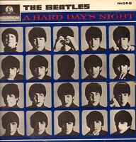 The Beatles(481-3N/482-3N Vinyl LP)A Hard Day's Night-Parlophone-PMC 12-VG/G