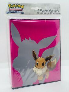 Pokemo-Ultra-Pro-Evoli-4-Pocket-Portfolio-Sammelalbum-80-Karten-Neu-OVP