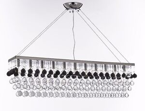 Modern contemporary rain drop linear chandelier light dressed with image is loading modern contemporary 034 rain drop 034 linear chandelier aloadofball Choice Image