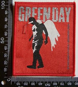 GENUINE-GREEN-DAY-EMBROIDERED-JACKET-PATCH-ROCK-BAND-WOVEN-SEW-ON-CLOTH-BADGE