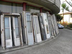 Vecchie porte finestre stile ideali per bricolage prezzo per la coppia vintage ebay - Porte vecchie in legno ...