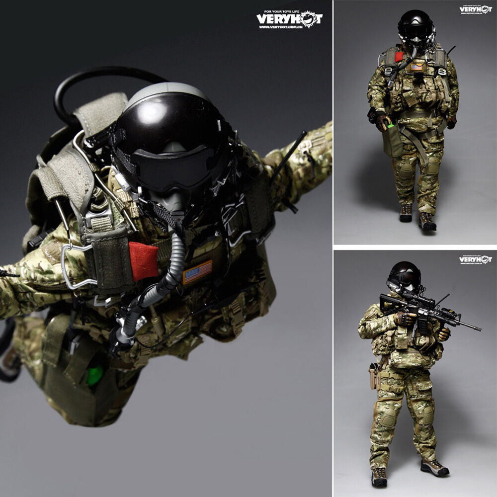 HOT FIGURE TOYS 1 6 VH veryhot U.S. army special forces HALO paratroopers