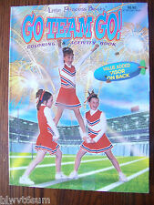 Go team Go Coloring Book-Lots of Sports for Girls- Great Gift