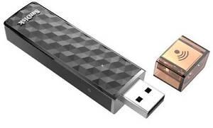 SanDisk Connect 64 GB Wireless Stick Pen Drive ( WiFi + USB 2.0 )