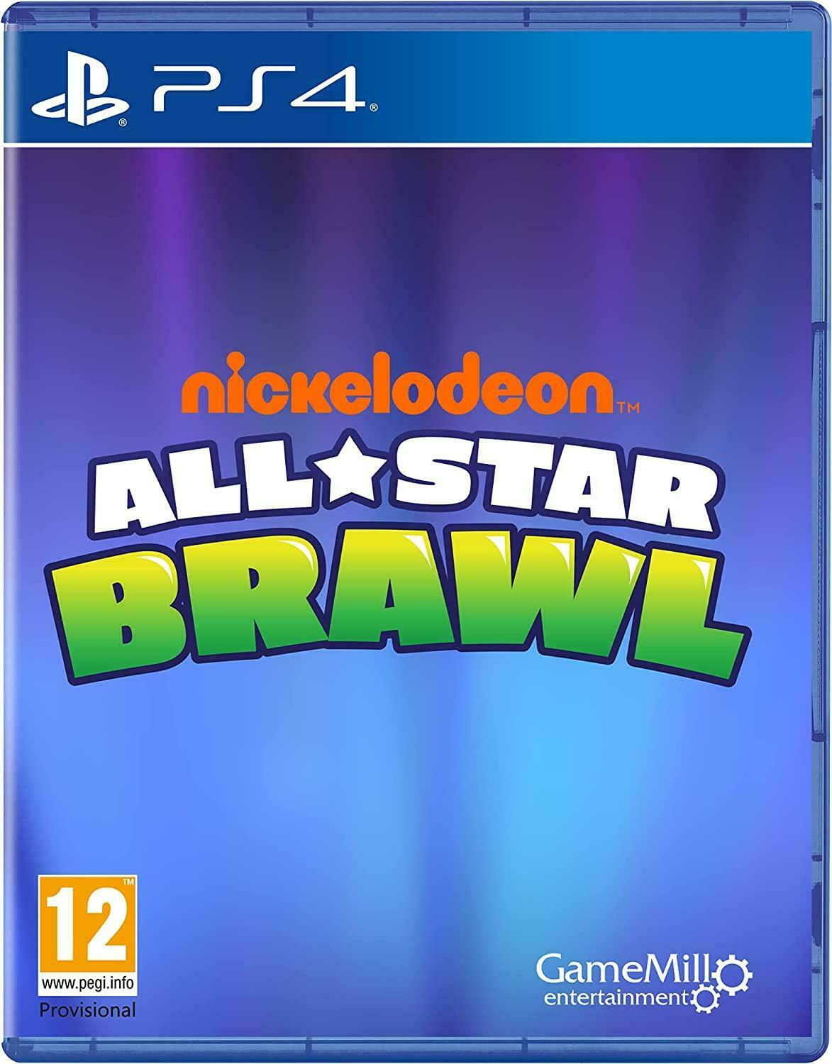 Nickelodeon All-Star Brawl (PS4) Pre-Order Released 9/11/2021