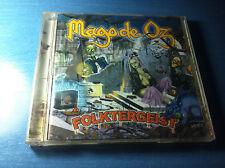 Mago de oz - 2 cds folktergueist  CRISTAL COMO NUEVO CAJA plastico , pack rare