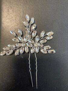 wedding hair accessories crystal