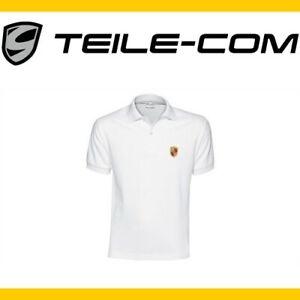 ORIG-Porsche-Herren-Polo-Shirt-weiss-Groesse-XL-54-mit-Porsche-Wappen-911-993-997