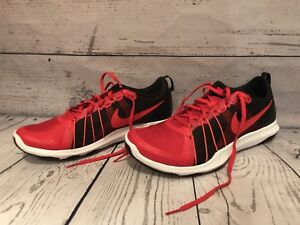 bb7e413d0f85 Nike Mens Red Black Flex Train Aver Shoes Size 10.5 Style 831568 600 ...