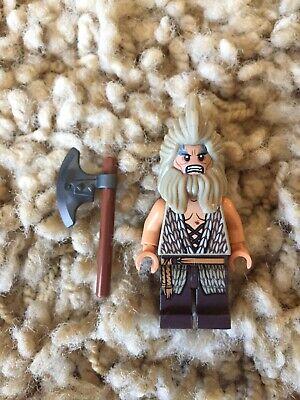 NEW LEGO The Hobbit Desolation of Smaug 79011 BEORN Minifigure w//Battle Axe BEOR