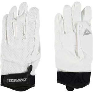 DAINESE-Baiardo-Ladies-Womens-Motorcycle-Gloves-White-Black-size-Medium