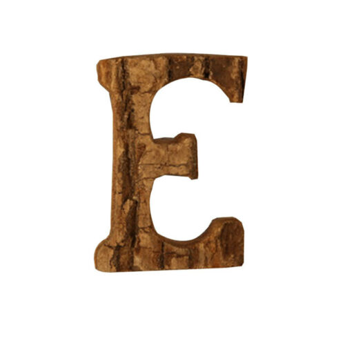 Vintage Wood Alphabet Letter Wall Decor Wall Sign Wedding Party Home Deco KOQ