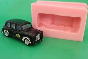 London-Taxi-Cab-3D-Silikonform-fur-Kuchendekoration-Schokolade-Ton-Usw